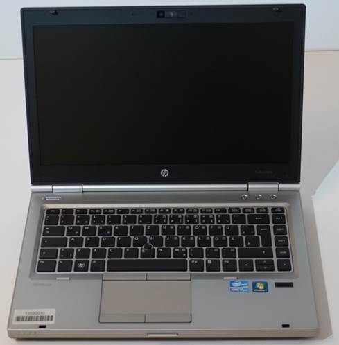 HP EliteBook 8470p mit Intel Core i5-3320M - Refurbished