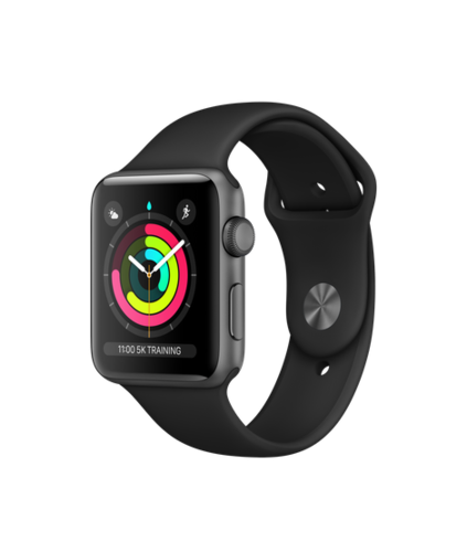Apple Watch Series 3, 42mm, space-grey